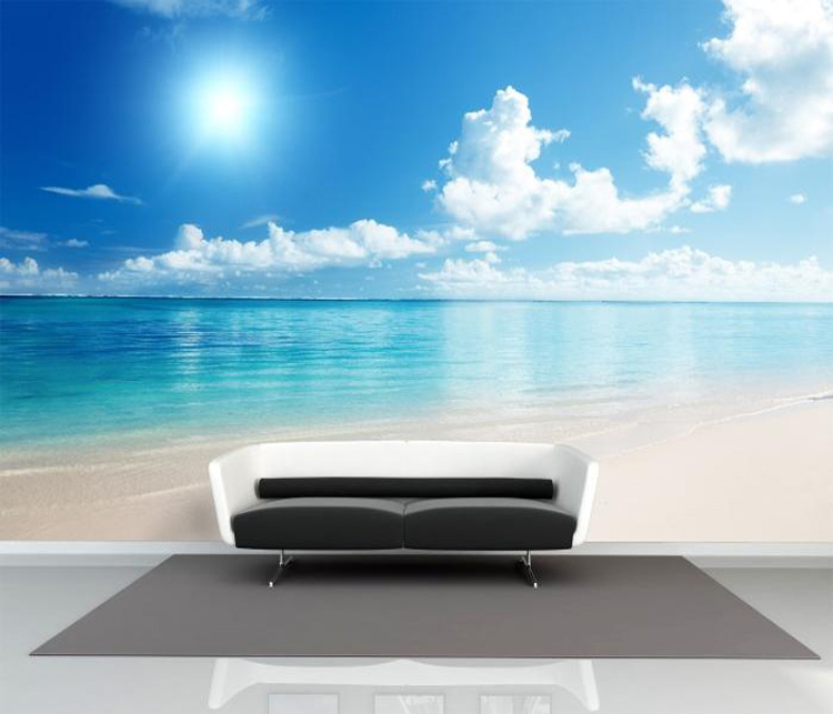 Aliexpress.com : Buy Charming Sunny Beach Wallpaper Ocean Wall Murals  Custom Seascape Photo Wallpaper Children Room Wall Art Bedroom Living Room  From ... Part 63