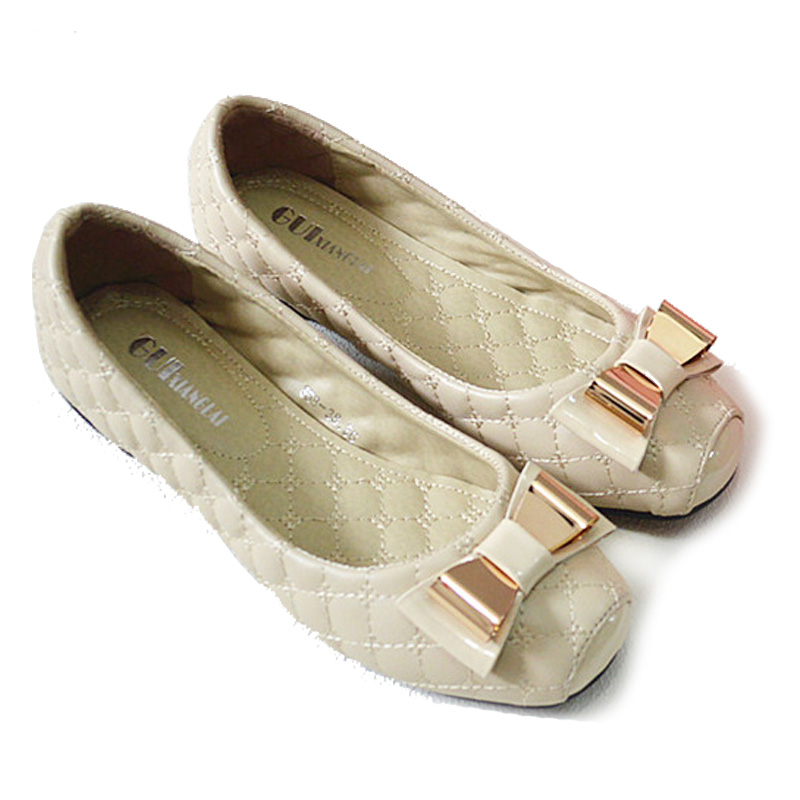 Plus Size 5-10 New Spring Shoes Women Flats Top quality Flat Shoes  European Style  Loafers Round Toe Casual Shoes 2017 new fashion flats woman spring summer women shoes top quality pointed toe women flats suede comfort flat plus size 40