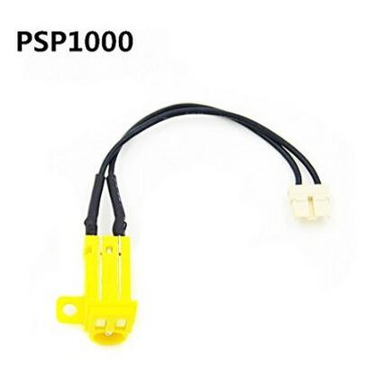 1pcs Power Battery Socket Adapter Plug Charger Port Charging Jack AC Connector For PSP1000/PSP 1000 Console Repair Replacement