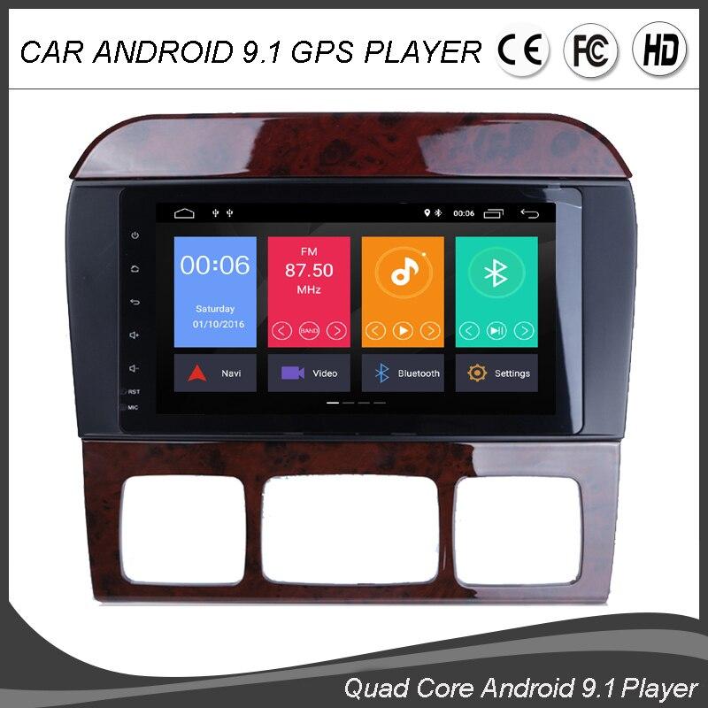 8''Android 9.0 Quad Core voiture GPS écran tactile pour Mercedes Benz classe S W220 cl-class W215 Canbus stéréo HeadUnit Mirrorlink BT