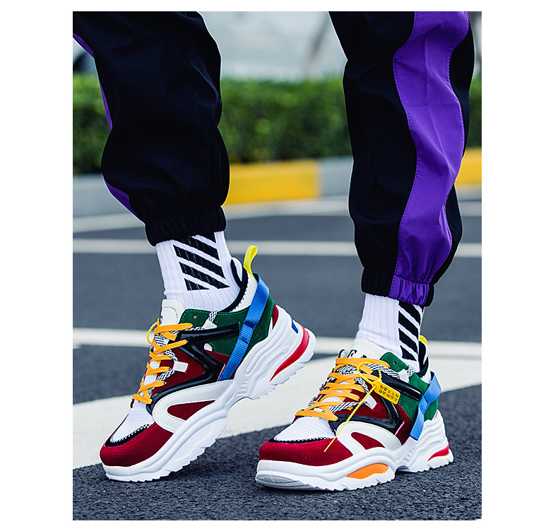 HTB1rN5fdEGF3KVjSZFmq6zqPXXa7 Sooneeya Four Seasons Youth Fashion Trend Shoes Men Casual Ins Hot Sell Sneakers Men New Colorful Dad Shoes Male Big Size 35-46