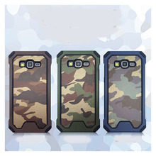 Camouflage patterns case For Samsung Galaxy Grand Prime G530 G530H Navy Army Camo Hard Plastic+Soft TPU Back Cover Phone Shell