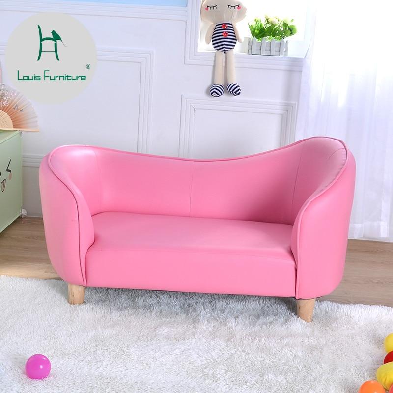 Louis Fashion Children S Sofas Mini Cute Princess Pink Bedroom Kindergarten Simple Modern Children Sofas Aliexpress