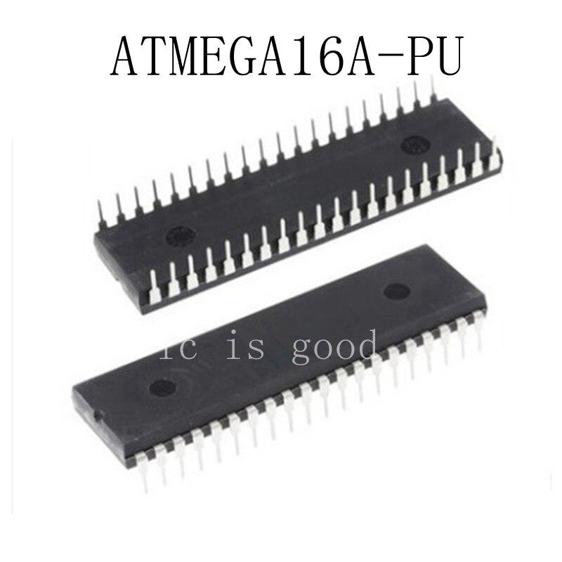 ATMEGA16A PU ATMEGA16A DIP 40 IC 20PCS 1Lot Free shipping