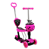 Multi Функция ребенок прогулочная коляска для детей скутер