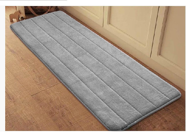 Online Shop Zeegle Coral Velvet Memory Foam Area Rug For Living ...