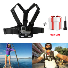 Chest Belt Action Camera Holder Sport Cam SJ4000 Strap For Xiao Mi Yi Gopro Hero 5/4/3/3+ Accessories Mount Adjustable Strap