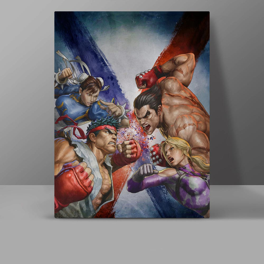 Don T Touch My Boy Friend Wall Pictures Kuso Chunli Sakura Canvas