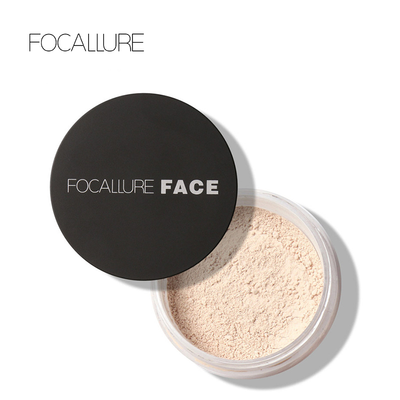 Focallure Makeup Powder 3 Colors Loose Powder Face Makeup Waterproof Loose Powder Skin Finish Powder new 8 slots quick charge charger 2 usb socket high quality battery charger for ni cd ni mh aa aaa rechargeable batteries