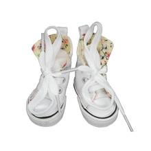 Tilda Canvas Shoes For Paola Reina Doll Fashion Mini Toy Gym Shoes for Tilda 1 3