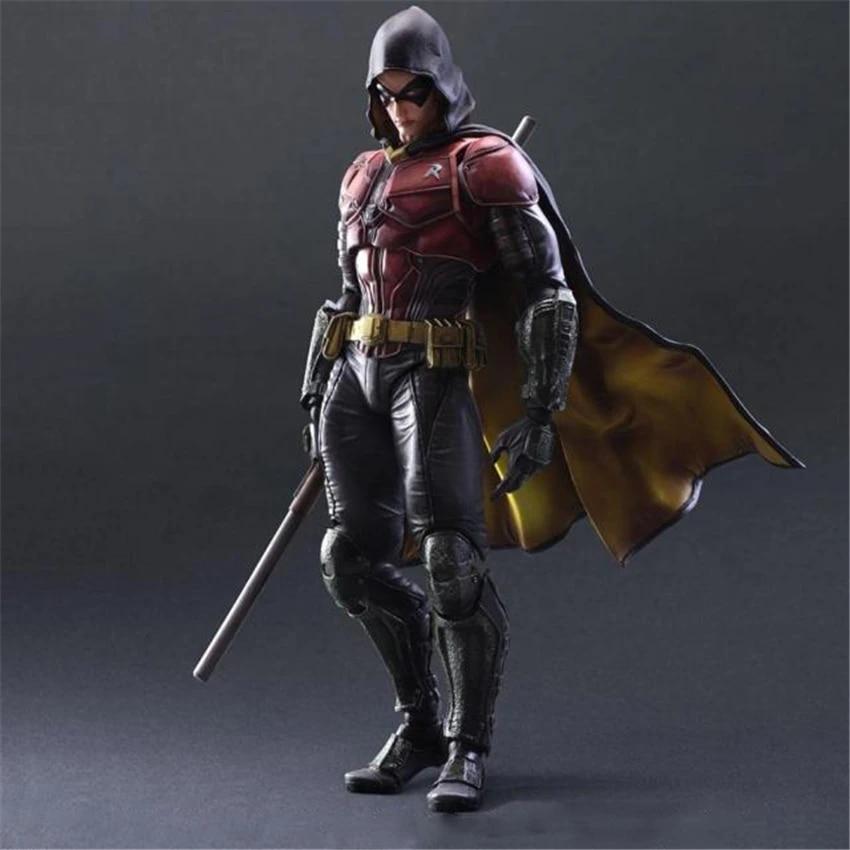 Venta Al Por Mayor De Figuras Pa Batman Arkham Knight Robin Pvc Modelos De Figuras De Acción Coleccionables Juguetes Modelo 25 Cm Figuras De Juguete Y Acción Aliexpress