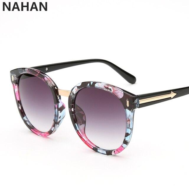 Mirror Vintage Round Sunglasses Women 2016 Fashion Ladies Luxury Brand Designer UV400 Retro Big Woman Sun Glasses Oculos De Sol