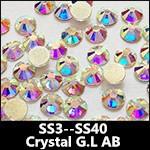 Crystal AB Golden Light 8