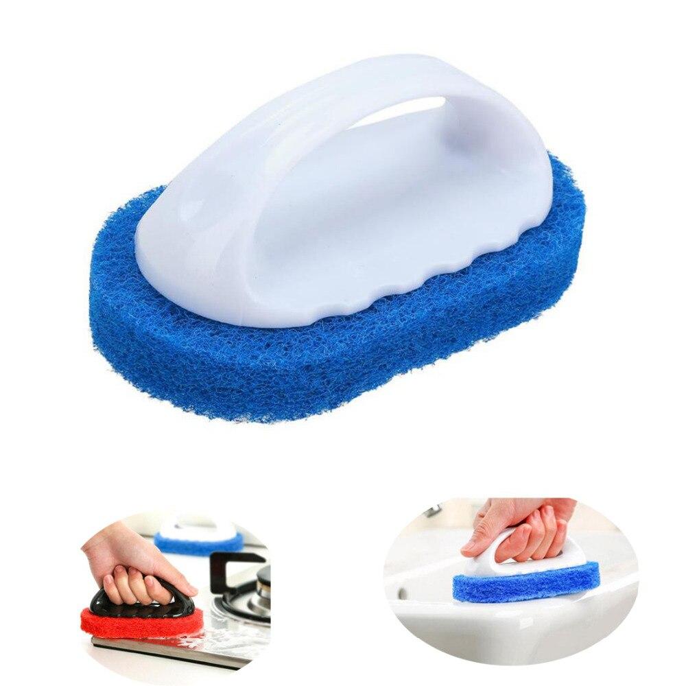 Щетка Для Очистки Кухни волшебная губка Ластик щетка для плитки чаша для умывания чистые щетки Губка аксессуары для ванной комнаты