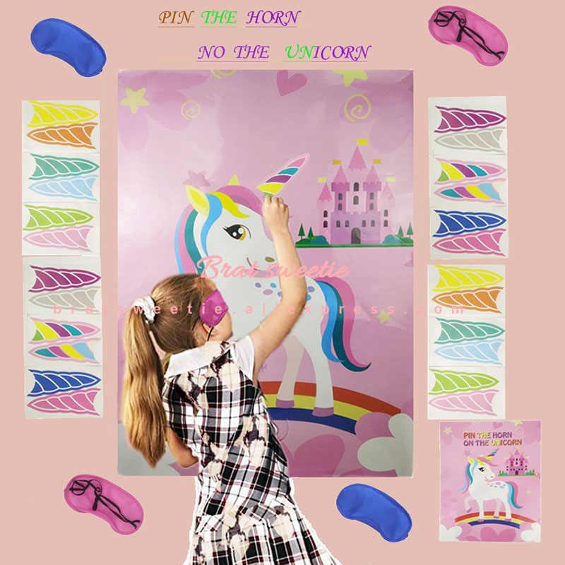 Ballons licorne 3D grande taille   Ballon à feuille licorne magique de fête, ballon Mylar de réception-cadeau pour bébé, décorations de fête d'anniversaire pour enfants