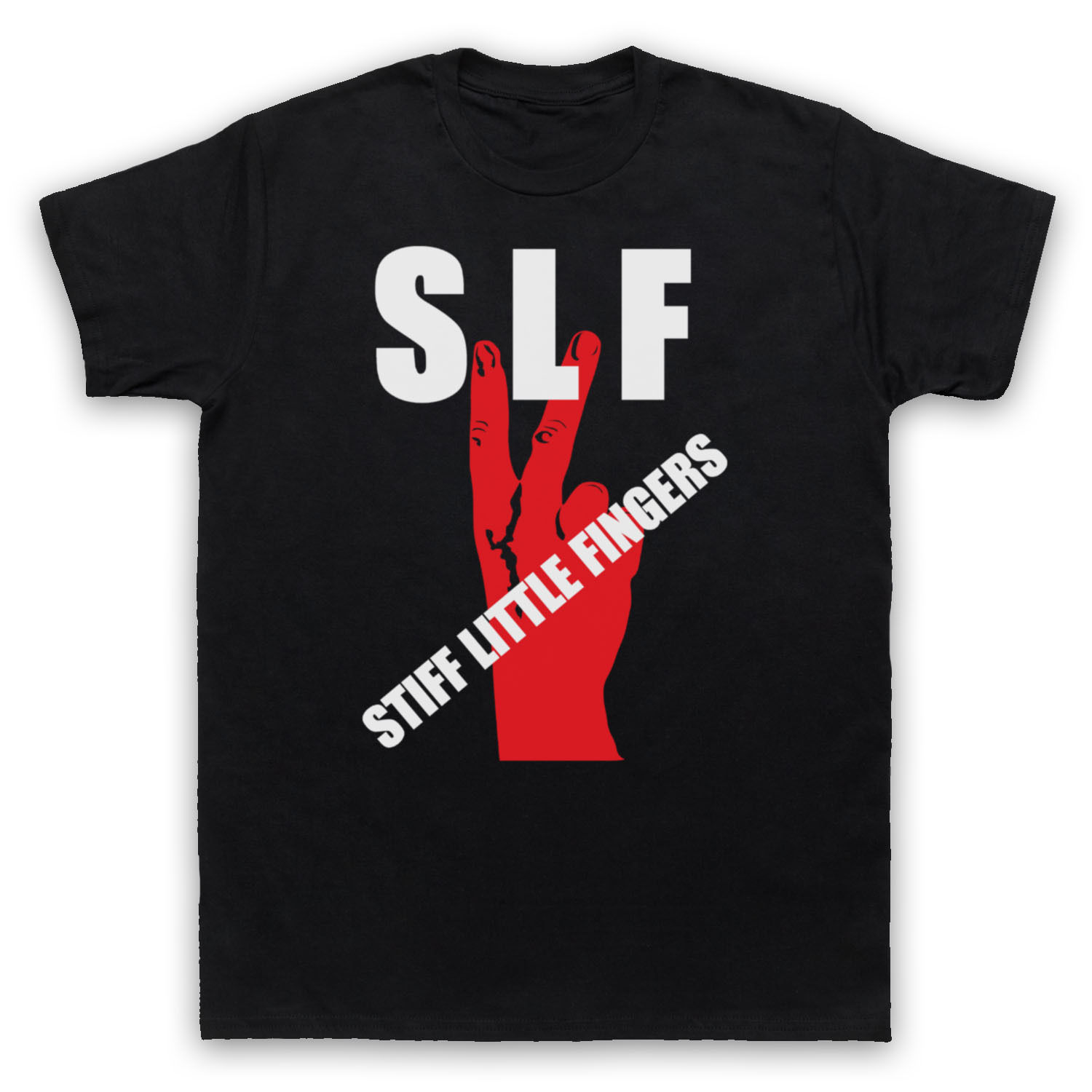 SLF IRISH PUNK STIFF LITTLE FINGERS UNOFFICIAL T-SHIRT MENS LADIES KIDS SIZE COL Men T-Shirt Cotton 100% top tee