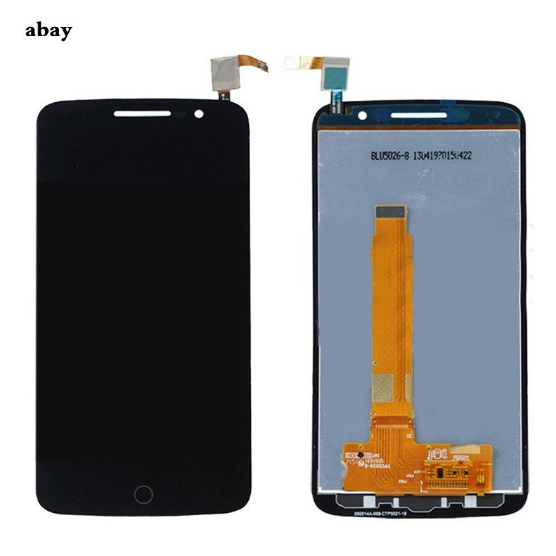 Image 2 - For Alcatel One Touch Pop 2 Premium 7044 OT7044 7044X 7044Y 7044K 7044A LCD Display Assembly Touch Screen Replacement Parts-in Mobile Phone LCD Screens from Cellphones & Telecommunications on