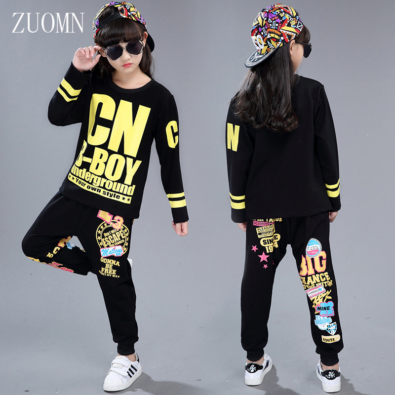 Children clothing sets boy girl hiphopfashion sets suits kids brand sports sets clothes kids suit girls hiphopclothes set YL484 kids clothing set girls denim jacket jeans suit children sports clothing two piece long sleeved coat suit teenage girl clothes