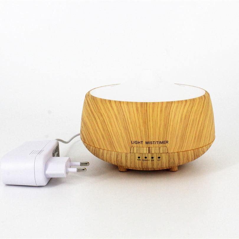 250 ML Aromatherapie Diffuser Hout Led luchtbevochtiger Kleurrijke - Huishoudapparaten - Foto 3