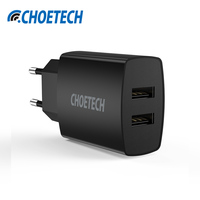 Universal USB Charger for iPhone 7 6S 5V/3.4A Dual USB Travel Wall Charger Adapter for Samsung Galaxy S8 Mobile Phone Charger