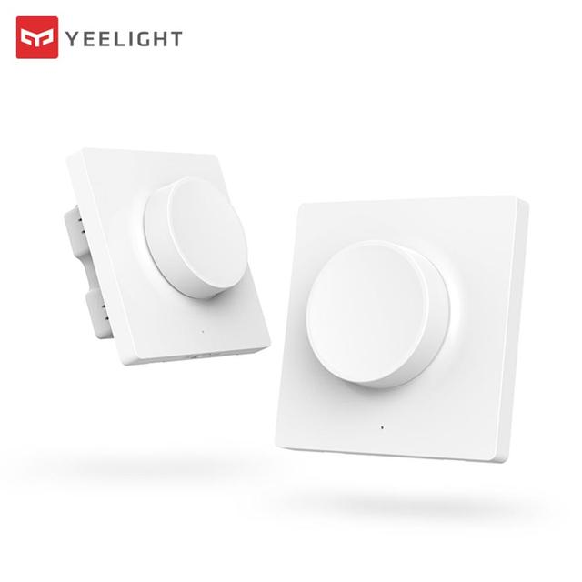 Yeelight Smart Dimmer Switch Intelligent Adjustment Off Light Still Work 5 In 1 Control Smart Switch