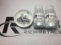 Gallium Metal 99.99% Pure 100 Grams, by Changsha Rich Nonferrous Metals Co.,Ltd