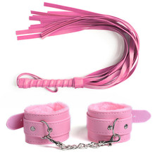 Bondage BDSM Whip Handcuffs Spanking Whips Flogger Adult Slave Game SM Erotic Products Flirting Sex Toys For Couples