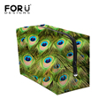 Women Travel Cosmetic Bag Peacock Feather Organizer Large Lady Makeup Cosmetic Bag Travel Bag Multifunction Neceser Maquillaje