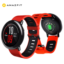 Huami Amazfit темп GPS Бег Bluetooth 4.0 спортивные Смарт-часы Ми сердечного ритма Мониторы CE Wi-Fi Dual Core 1.2 ГГц 512 МБ + 4 ГБ