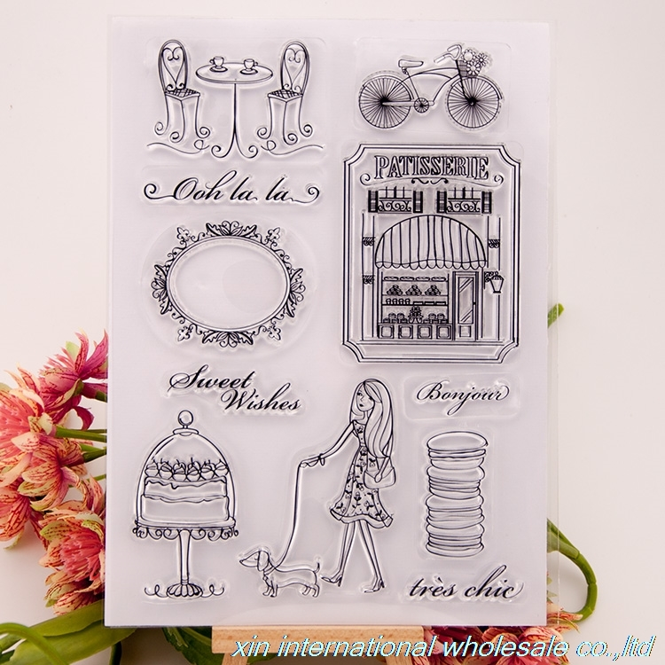 2pcs embossing folders scrapbook ACRYLIC VINTAGE clear stamps FOR PHOTO SCRAPBOOKING stamp clear stamps for scrapbooking 79 bird big size scrapbook diy farm sellos carimbo acrylic clear stamps for photo timbri scrapbooking stamp