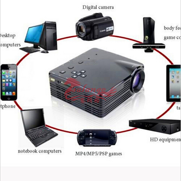 2015 best selling full hd 3d led pico projector hologram for Best portable projector for iphone 6