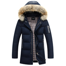2016 new winter warm long term solid color down font b jacket b font
