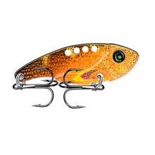 1PC VIB Pencil 6 Color 11g-0.39oz Fishing lure Hard Bait 2.12-5.4cm Tackle 6# Hook ZD020 New