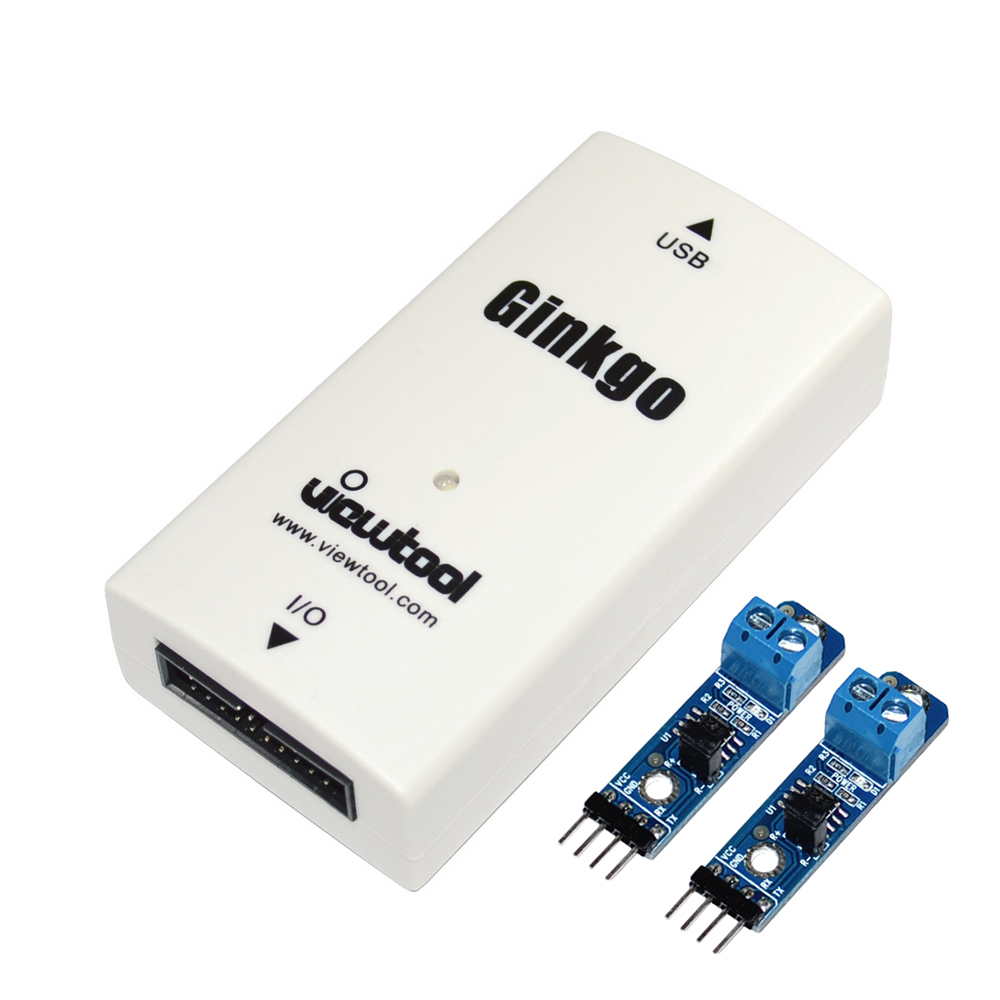 USB To CAN Bus Adapter Support Windows/Linux/MAC/Android/RaspberryPi USB-CAN Converter Compatible With I2C/SPI/UART/ADC/DAC/GPIO
