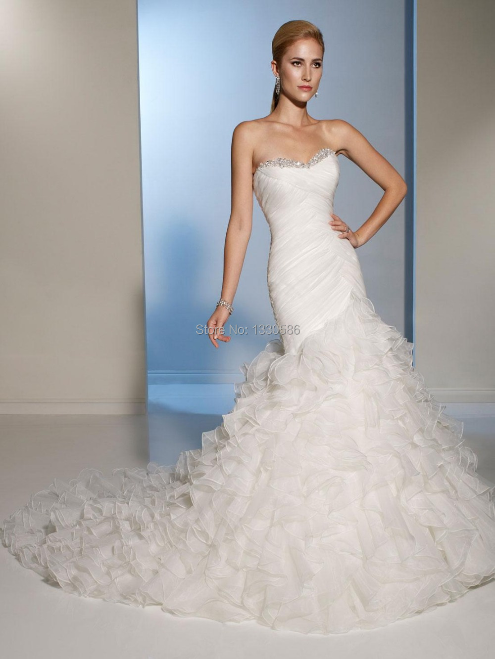 Compare Prices on Lace Mermaid Spanish Style Wedding Dress- Online ...