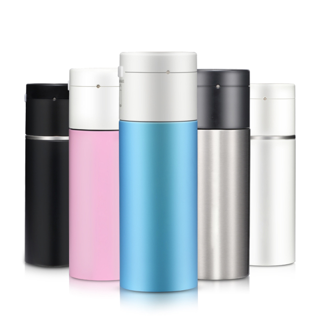 Portable Water Heater Bottle – Mini Kettle w/ a Cup, 260ml