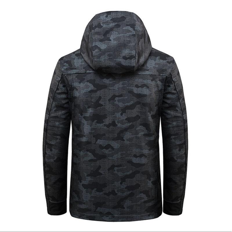 Image 5 - 2018 дайв Рыбалка рубашки Осень Зима теплые уличные куртки для рыбалки Спорт флис с капюшоном одежда для рыбалки-in Одежда для рыбалки from Спорт и развлечения