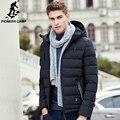 Pioneer Лагерь толстый пуховик мужчин бренд одежды зимой вниз пальто высочайшее качество мужской моды случайные теплая вниз ветровки мужчины 625003