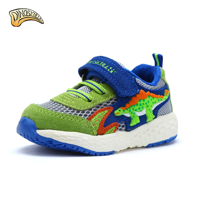 Dinoskulls kids shoes boys sport winter children shoes brands leather mesh  breathable tenis infantil 3D dinosaur shoes 22-26 2c410dbf62a3