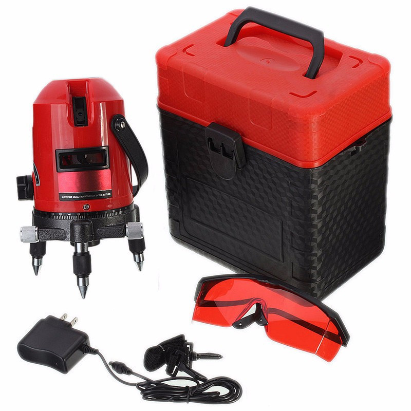 High Standard Waterproof Professional Automatic Laser Level Measure XD 5 Line 6 Point 4V1H 360 Rotating