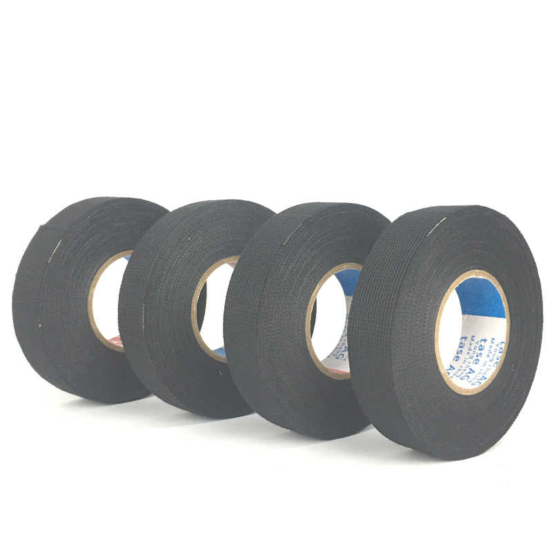 0 3mm 15m fabric cloth tape automotive wiring harness glue high 0 3mm 15m fabric cloth tape automotive wiring harness glue high temperature tape for car adhesive tape cable looms shipping in tape from home
