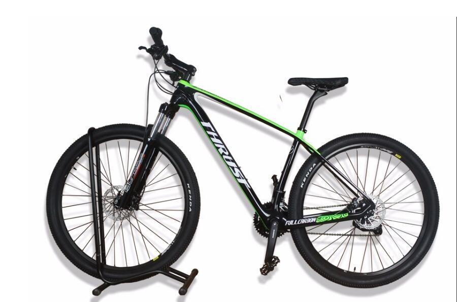 Полный карбоновый двойной дисковый тормоз для горного велосипеда MTB, горный велосипед с другой вилкой из сплава, размер 27,5/29ER