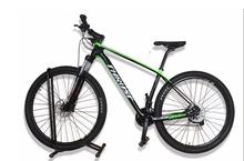 Complete carbon MTB Double Disc brake bicycle carbon Mountain bike with different groupset Alloy fork size