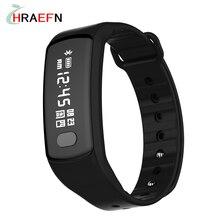 Hraefn HB07 Smart Band пульсометр измерять кровяное давление умный Браслет фитнес-трекер спортивные часы для IOS Android Xiaomi Sony