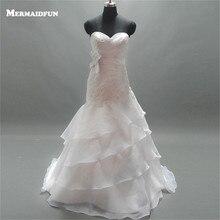 MERMAIDfUN 2019 Mermaid Sweetheart Wedding Dress With
