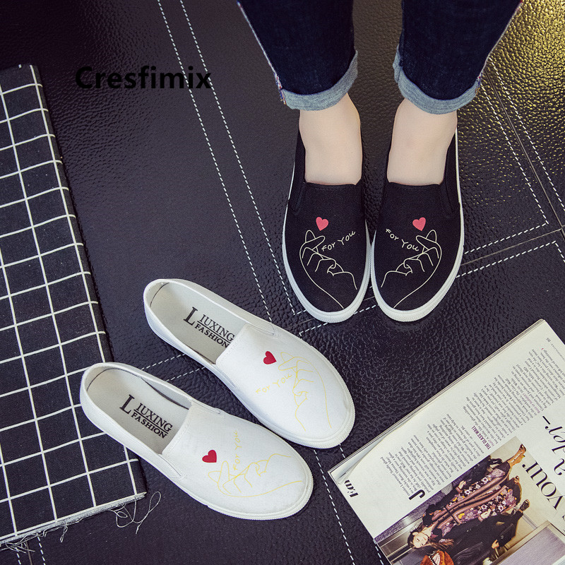 Cresfimix Vrouwen Platte Schoenen Teenager Girl Comfortable Spring High Quality Shoes Female Casual Shoes Women Flats C5241b