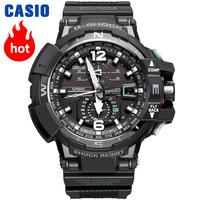 Casio watch G SHOCK Men's Quartz Sports Watch Solar 6 Bureau Radio Watch Sapphire Compass Waterproof g shock Watch GW A1100