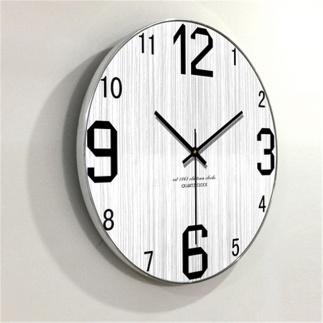 Descuento Gran Digital Relojes de pared casa madera ...