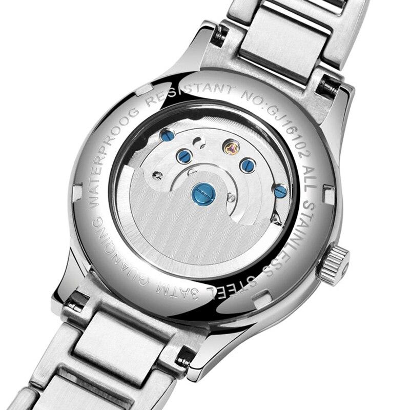 Reloj Mujer GUANQIN 2018 watch women Automatic Tourbillon Dress top brand famous Mechanical watch waterproof bayan kol saati