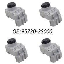 4 UNIDS Trasera PDC Sensor de Aparcamiento Por Ultrasonidos Para 09-13 Hyundai Tucson IX35 95720-2S000 957202S000